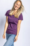 Premium Blank T-Shirt Ladies, Lila