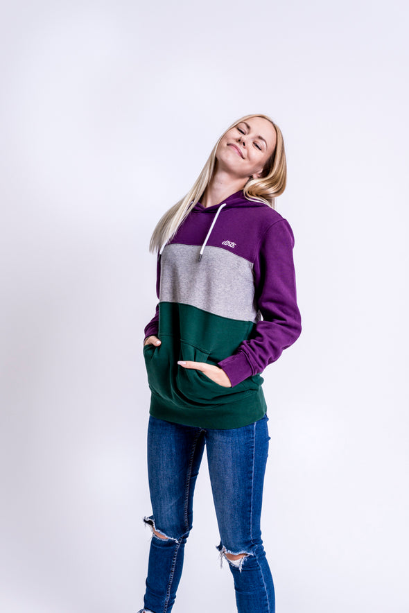 Color Block Hoodie Unisex, No. 4