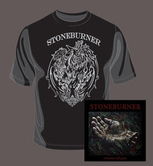 Stoneburner Sickness Will Pass CD / T-Shirt Bundle
