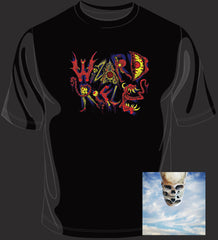 Wizard Rifle - Here in the Deadlights CD / T-Shirt Bundle
