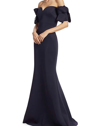 Bow Sleeve Gown