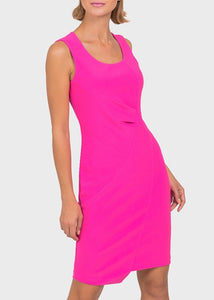 Pleat Sheath Dress