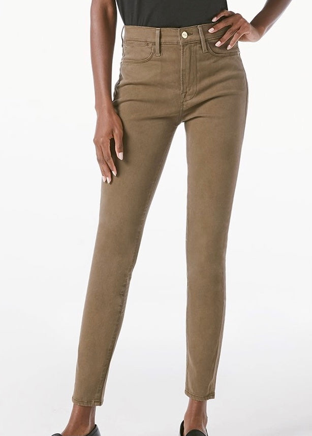 Le High Skinny Sateen
