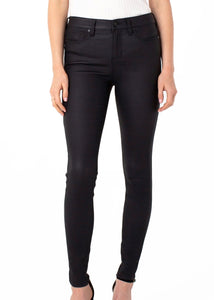 Abby Coated Skinny Jean