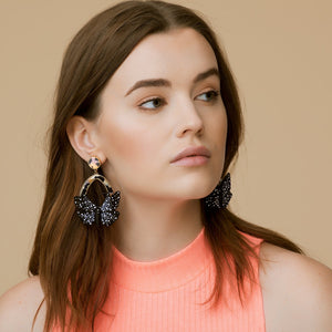 Butterfly Swing Earring