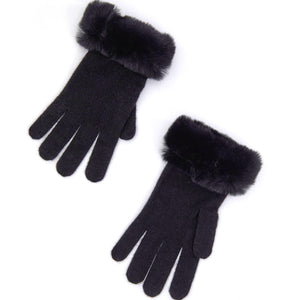 Miss Faux Fur Gloves