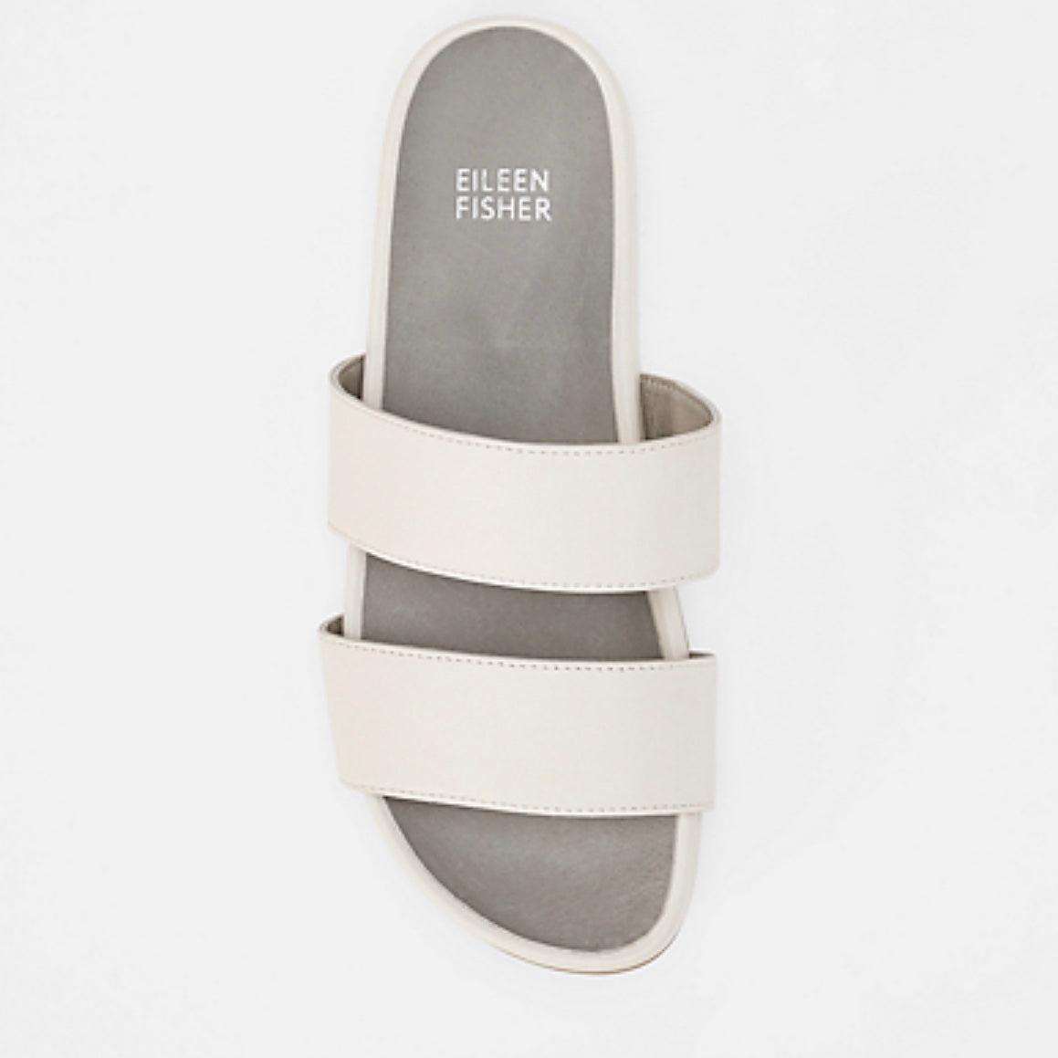 Smooth Leather Slide