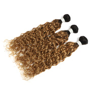 Ombre Honey Blonde Water Wave 3 Human Hair Bundles (4330221109318)