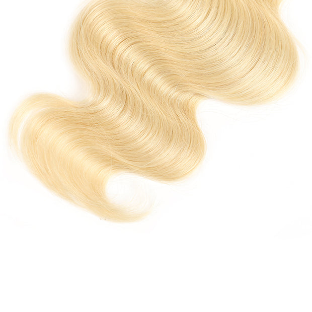 Ombre Blond Body Wave Remy Human Hair Bundle 8''-26'' (1B/613) (3947306778694)