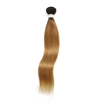 Straight Ombre 27 Human Hair Bundle 8''-26'' (4249233391686)