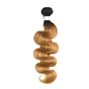Ombre 27 Body Wave Human Hair Bundle 8''-26''