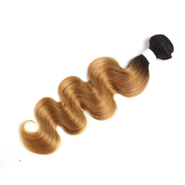 Ombre 27 Body Wave Human Hair Bundle 8''-26'' (4249212452934)