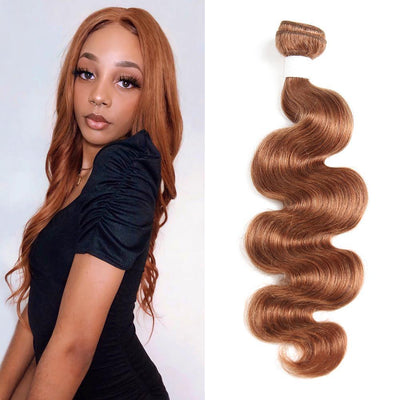 Kemy Hair Colored 100% Human Hair Weave Body Hair Bundle 8-26 inch (30) - Kemy Hair