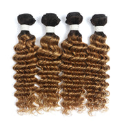 Ombre Honey Blonde Deep Wave 4 Human Hair Bundles (4330042982470)