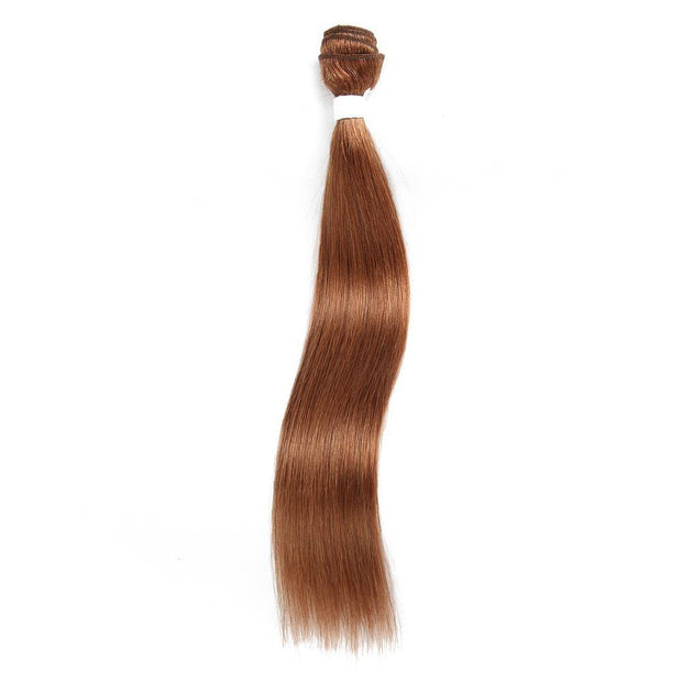 Colored 100% Human Hair Weave Straight Hair Bundle 8-26 inch (30) (2612075954276)