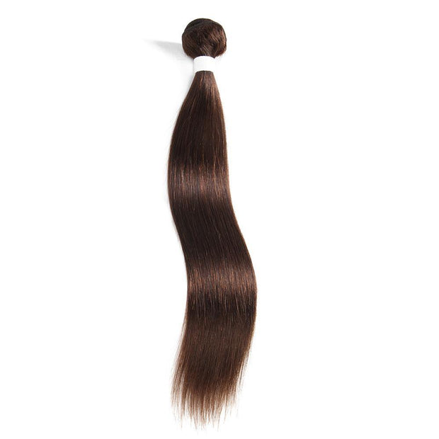 Colored 100% Human Hair Weave Straight Hair Bundle 8-26 inch (4)