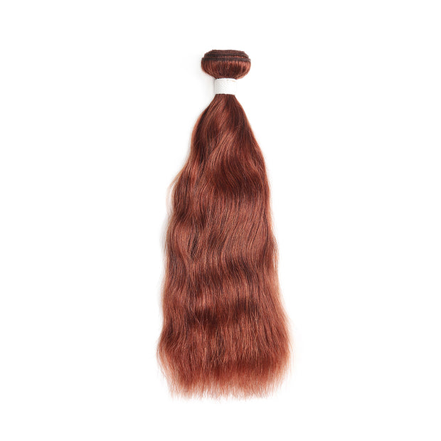 Natural Wavy 33 Human Hair Bundle (8''-26'')