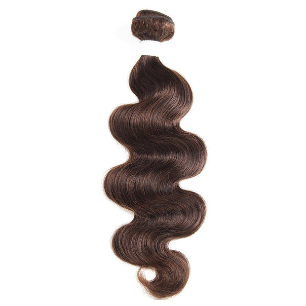 Colored 100% Human Hair Weave Body Hair Bundle 8-26 inch (4)