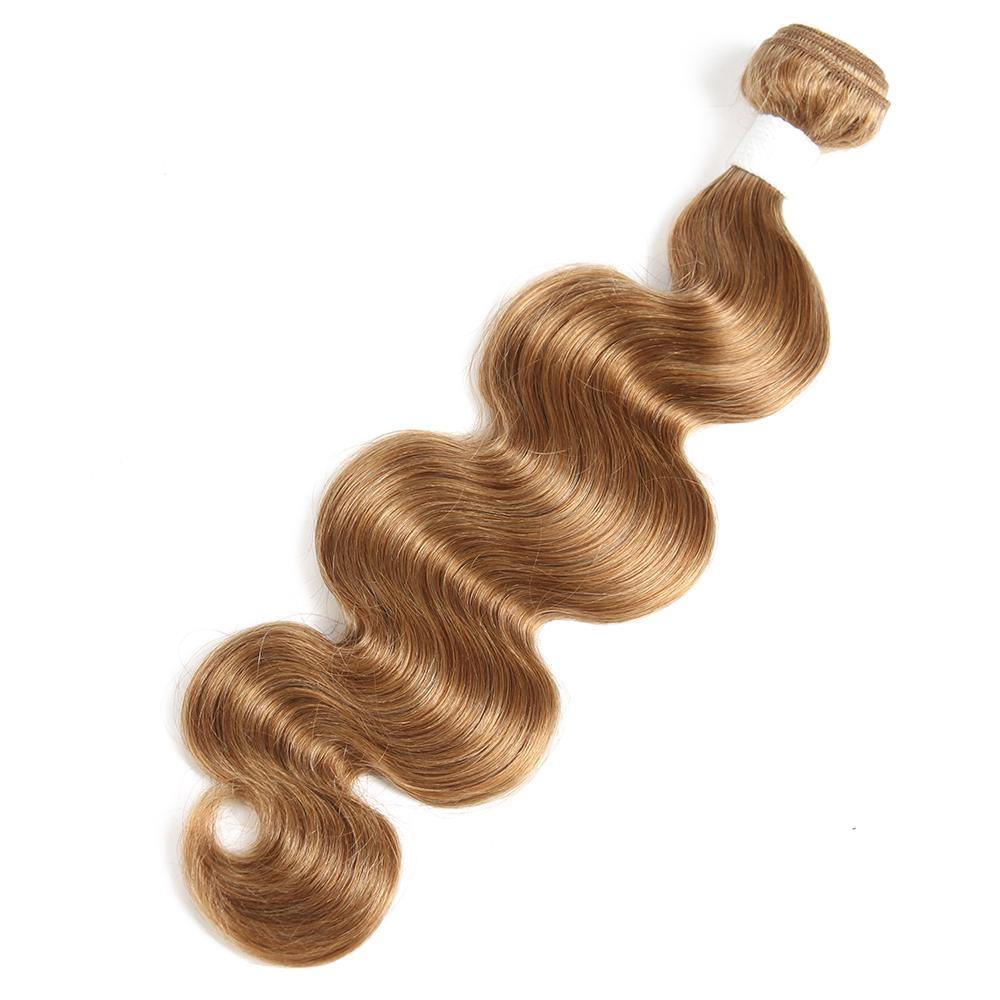 Colored 100% Human Hair Weave Body Hair Bundle 8-26 inch (27) (2612091060324)