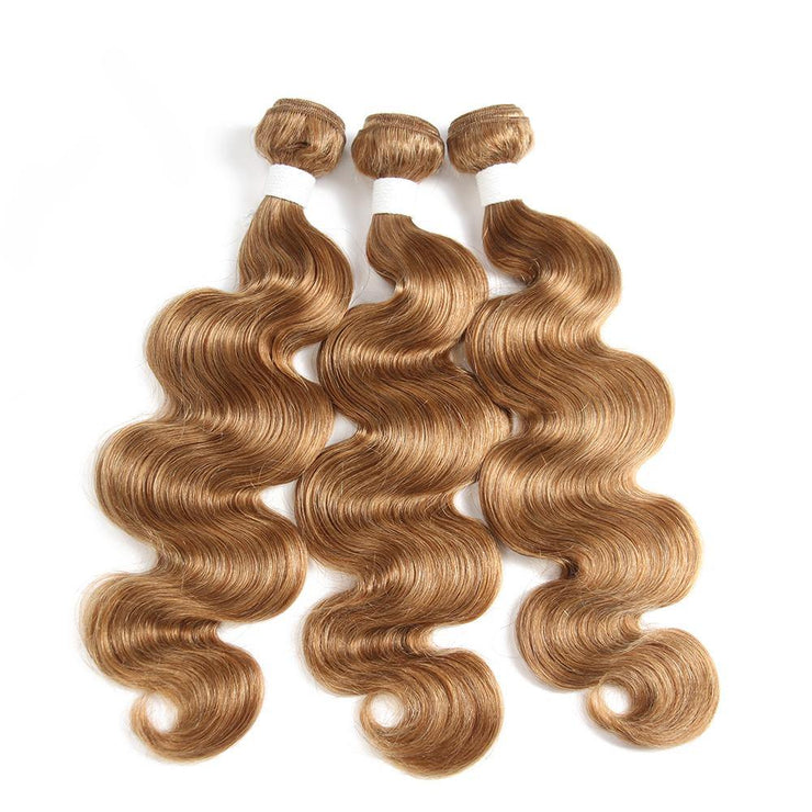 Colored 100% Human Hair Weave Straight Three Hair Bundle 8-26 inch  (27) (2828608602212)