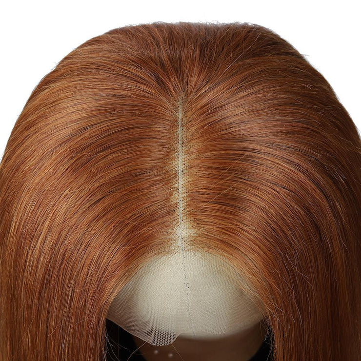 Kemy Hair Custom Brown Human Hair Lace Front wigs 8''-28'' (30)