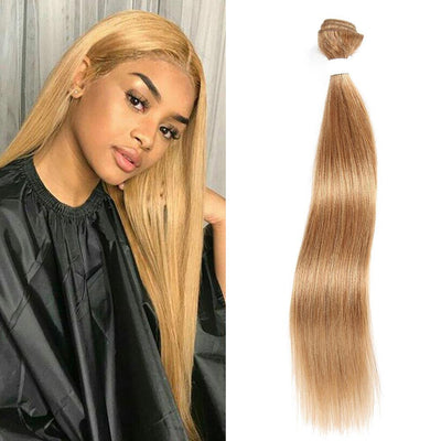 Kemy Hair Colored 100% Human Hair Weave Straight Hair Bundle 8-26 inch (27) - Kemy Hair