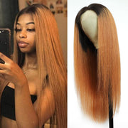 Kemy Hair Custom Ombre 30 Human Hair Lace Front wigs 8''-28''