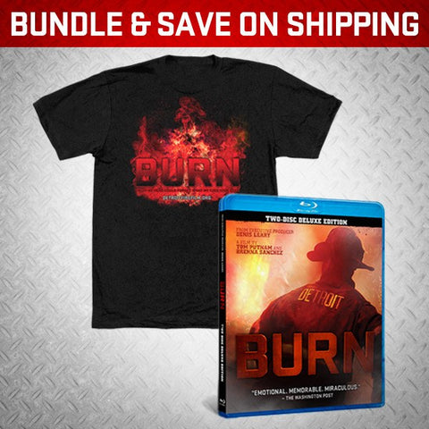 """BURN"" BLU-RAY + ANY SHIRT! - BURN Webstore"