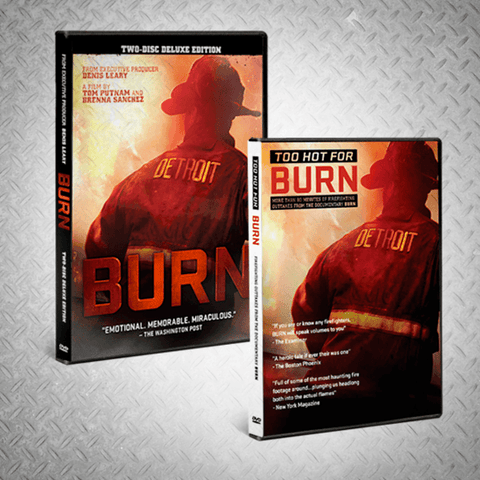 """BURN"" DVD + ""TOO HOT FOR BURN"" DVD - BURN Webstore"