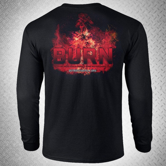 CLASSIC LONG SLEEVE T-SHIRT - BURN Webstore