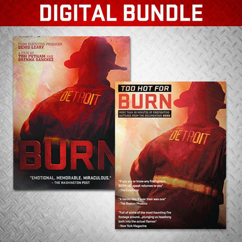 DIGITAL DOUBLE FEATURE! - BURN Webstore