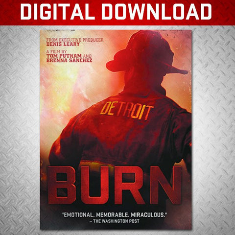 """BURN"" DIGITAL DOWNLOAD - BURN Webstore"