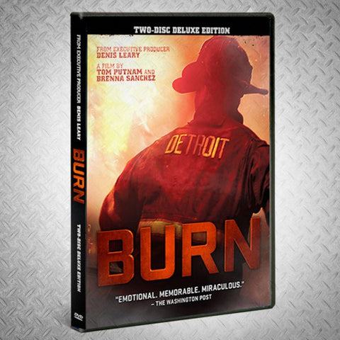 BURN Firefighting Film - FULL-SIZE MOVIE POSTER – BURN Webstore