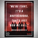"""BURN"" QUOTE POSTER TRIO - BURN Webstore"