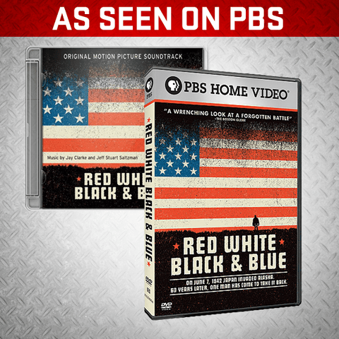RED WHITE BLACK & BLUE DVD + SOUNDTRACK CD - BURN Webstore