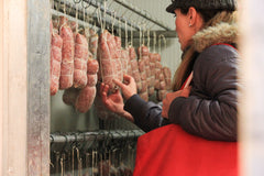 Sausages Made Simple - Salami making With Friends Salami Hanging