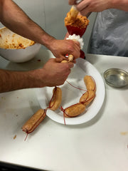 Fun sausage making class