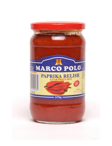Marco Polo Paprika Paste Hot