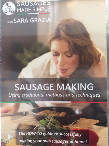 Wholesale Sausage Making Using Traditional Methods & Techniques - DVD