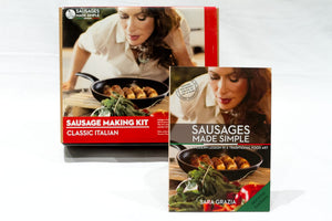 Classic Sausage Making Recipe Gourmet Box - Sausages Made Simple