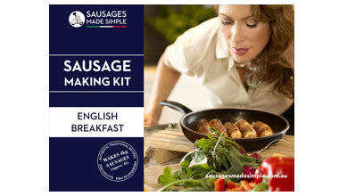 English Breakfast Sausage Making Recipe Kit