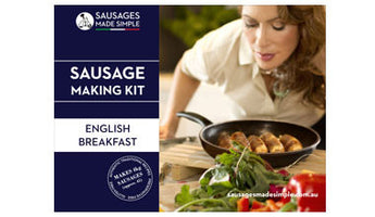 English Breakfast Sausage Making Recipe Kit - Sausages Made Simple