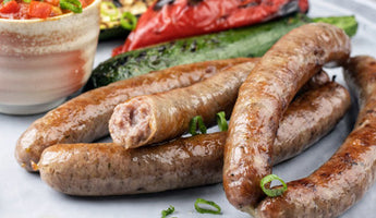 Lamb and Feta - Fresh Sausage Take Home Pack - Sausages Made Simple