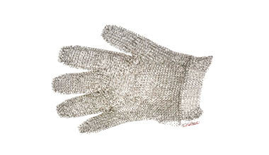 Stainless Steel Glove - Ring Mesh - Short Glove
