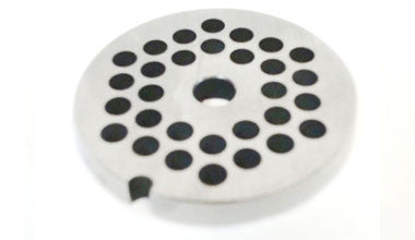 Mincing Plate - Stainless Steel - Fresh Sausage Making