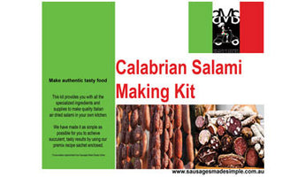 Salami and Chorizo Making Kit - Sausages Made Simple