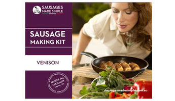 Venison Sausage Making Recipe Kit - Sausages Made Simple
