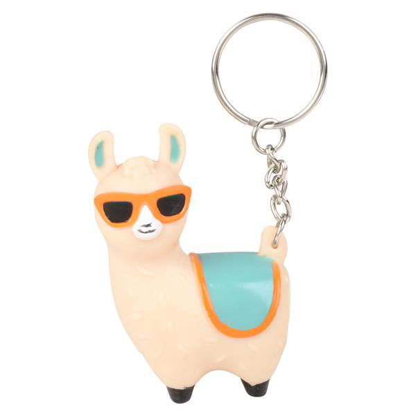 Pooping Llama Keychain - Pop Culture Spot
