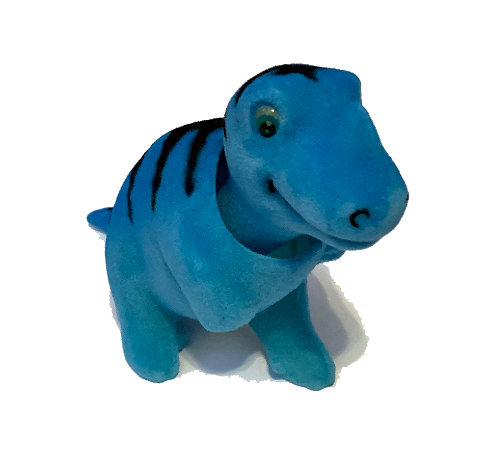 Blue Raptor Dinosaur Bobble Head - Pop Culture Spot