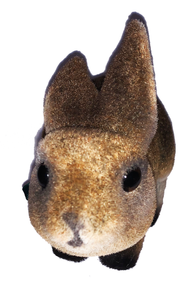 Brown Bunny Rabbit Bobble Head